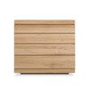 Oak Burger Chest of Drawers - 4 Drawers