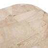 Blank Coffee Table - Bleached Burl