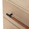 Ruse Nightstand - Yucca Oak Veneer