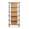 Erion Bookshelf - Light Oak Resin