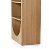 Hiller Bookcase - Honey Oak Veneer