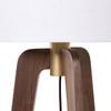 Tri Floor Lamp - Natural Walnut
