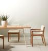Keleigh Outdoor Eucalyptus Dining Chair