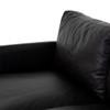 "Stane Sofa-91"" - Sonoma Black"