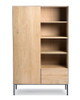 Whitebird Natural Oak Storage Cabinet