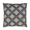 Furrow Embroidered Throw Pillow