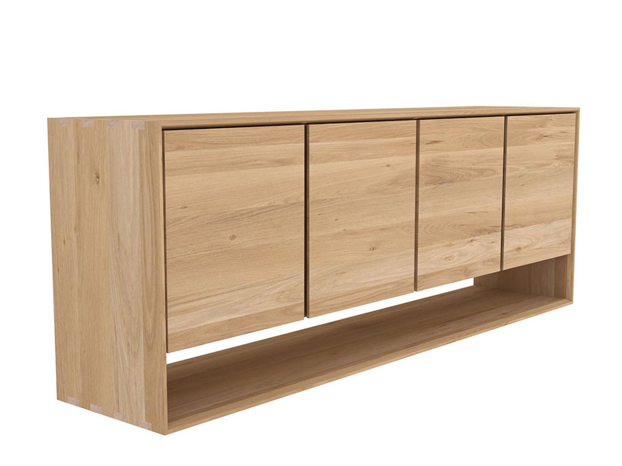 Nordic Light Oak Sideboard