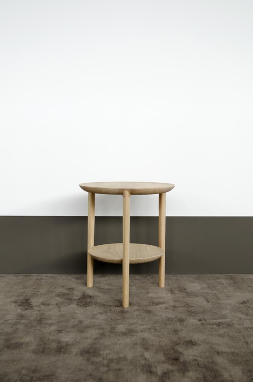 Float Oak Side Table
