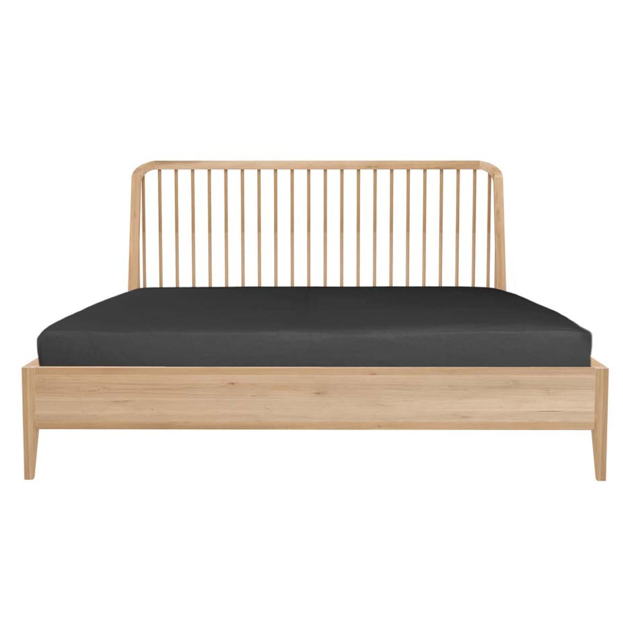 Oak Spindle Spartan Bed