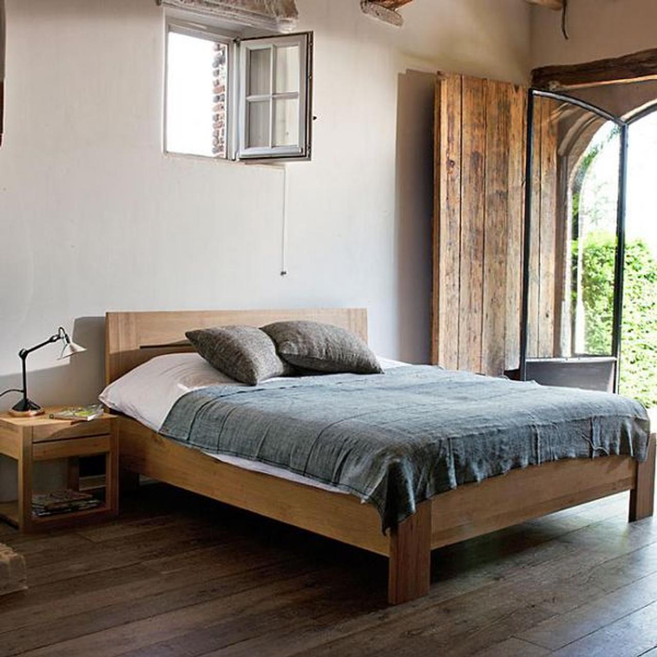 Oak Air Modern Bed
