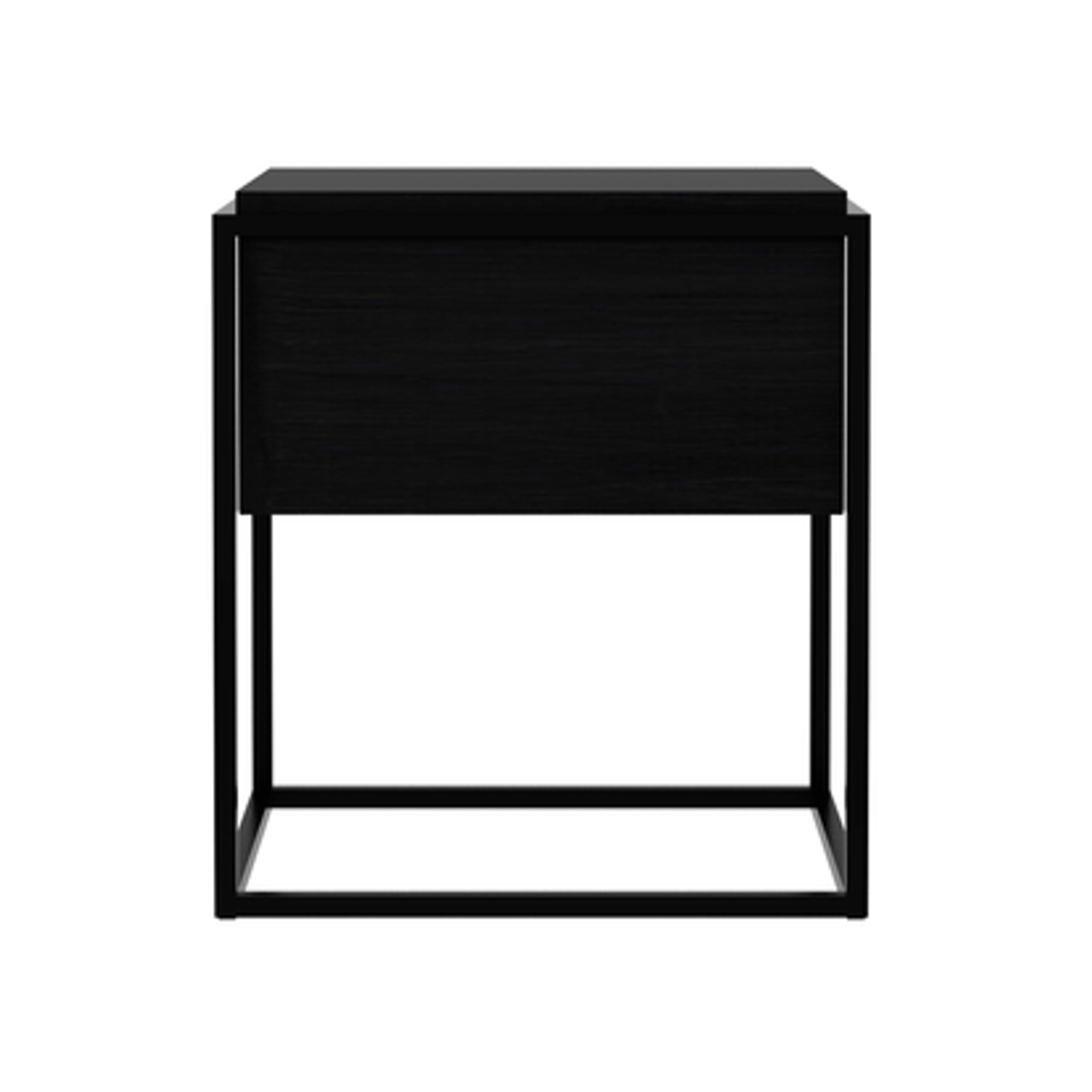 Oak Monolit Bedside Table Modern Nightstand