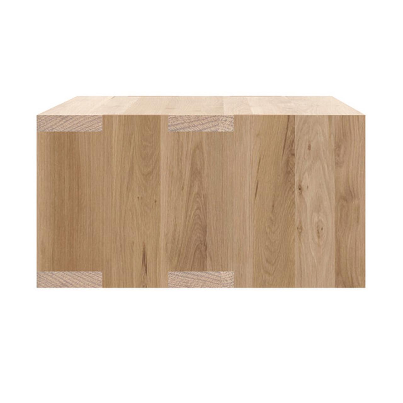 Oak Nordic II Bedside Hanging Table