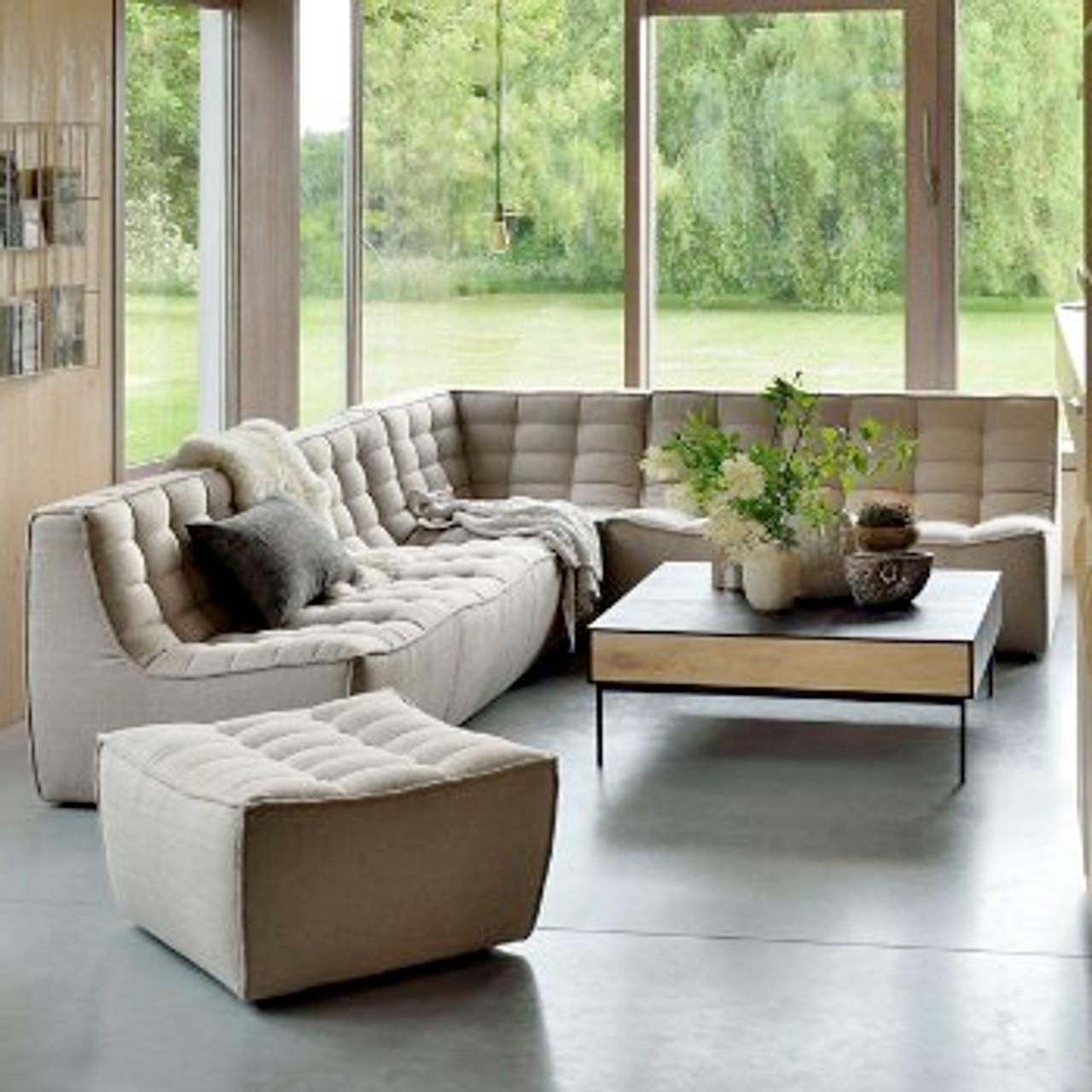 Roset Modern Modular Sectional Sofa - 3 Seater