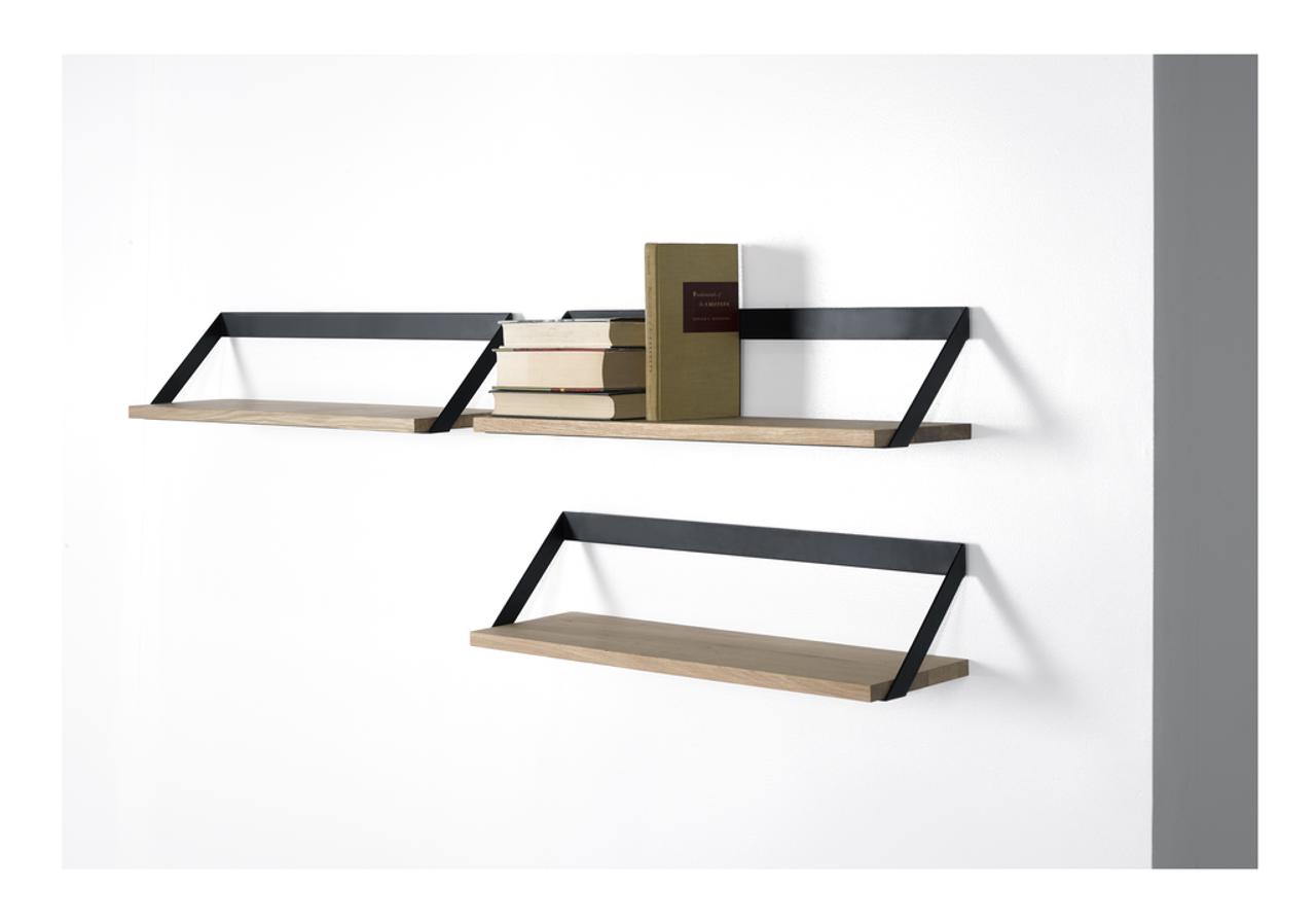 Oak Ribbon Shelf