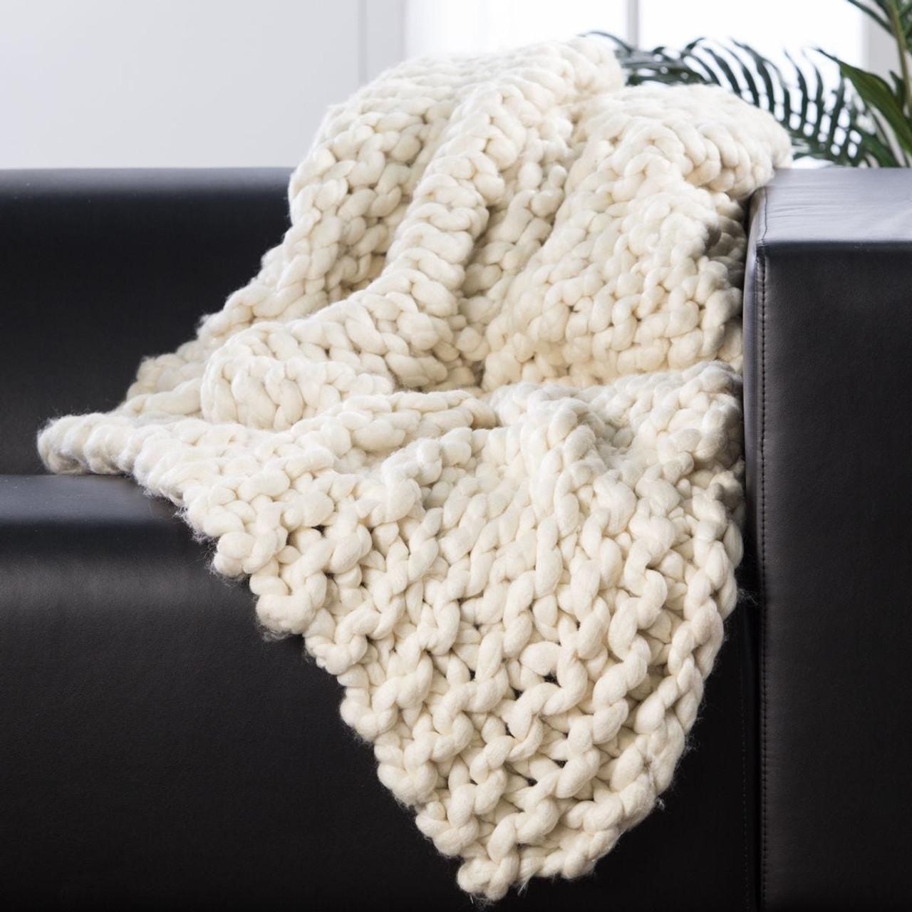Sublime Chunky Throw Blanket