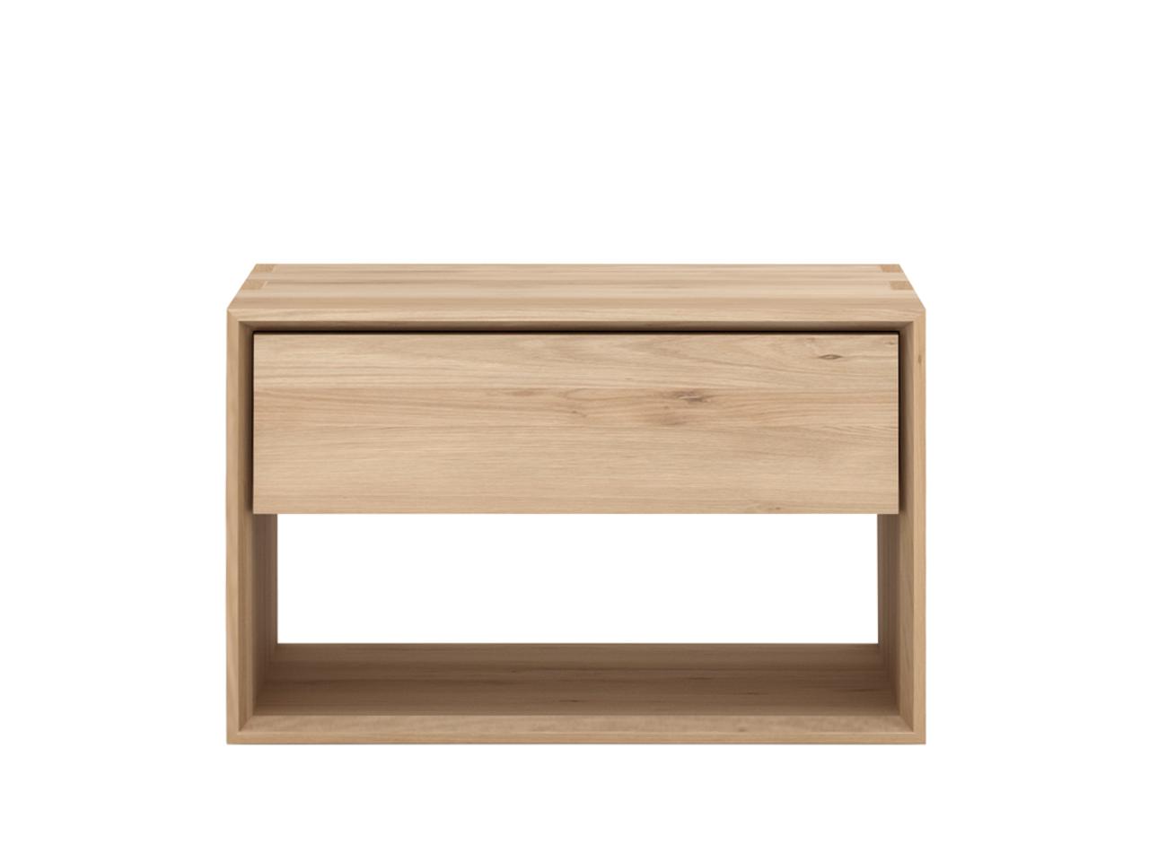 Oak Nordic Modern Nightstand