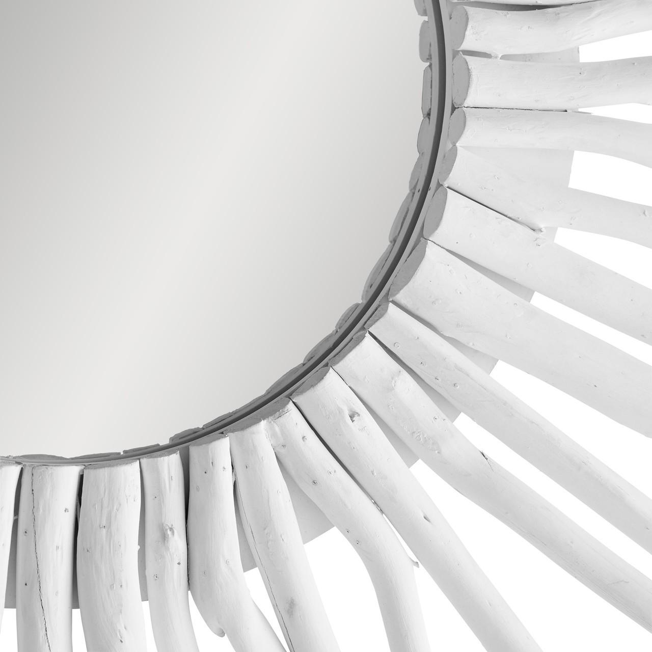 Matte White Tyger Mirror