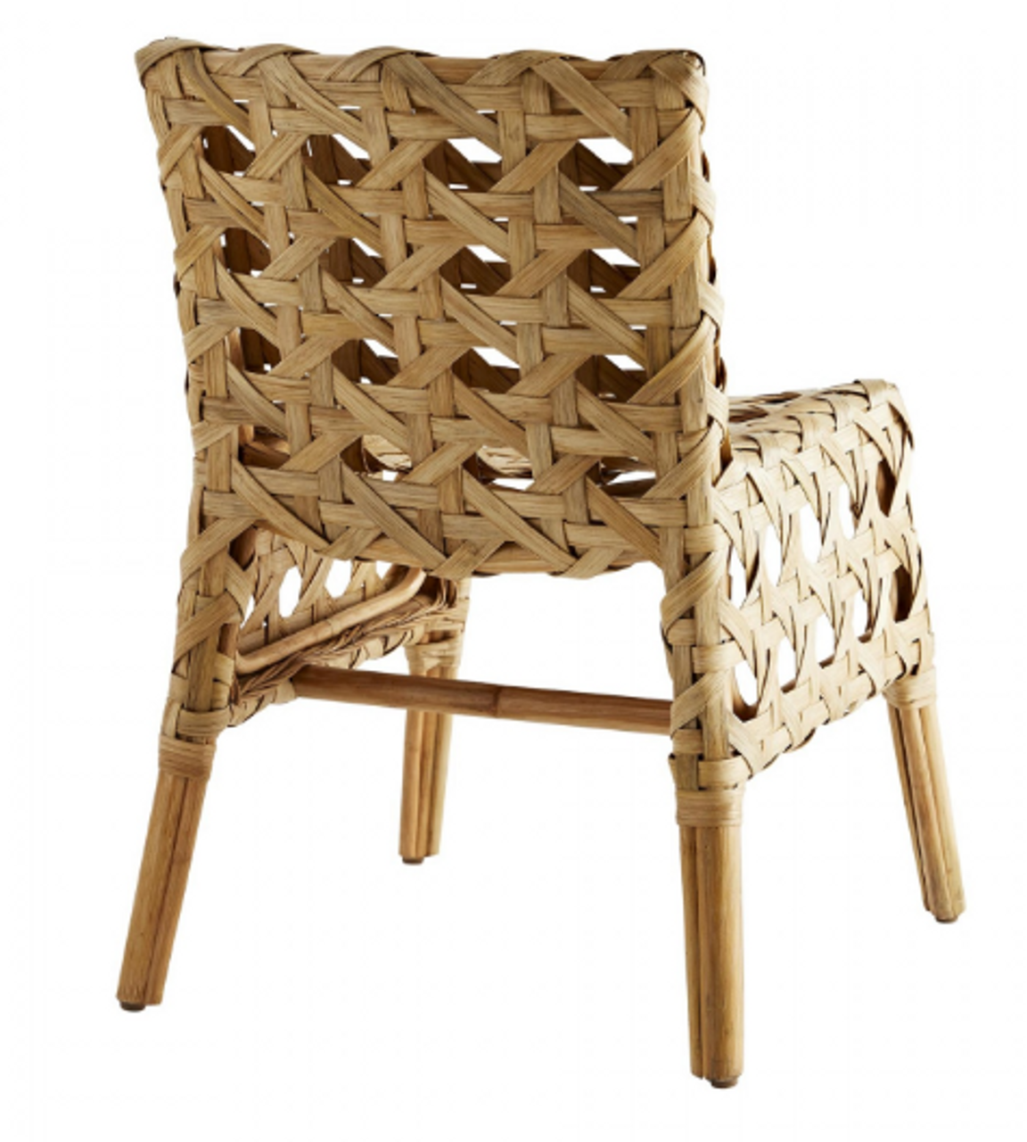 Flat Rattan Richmond Chair - Natural