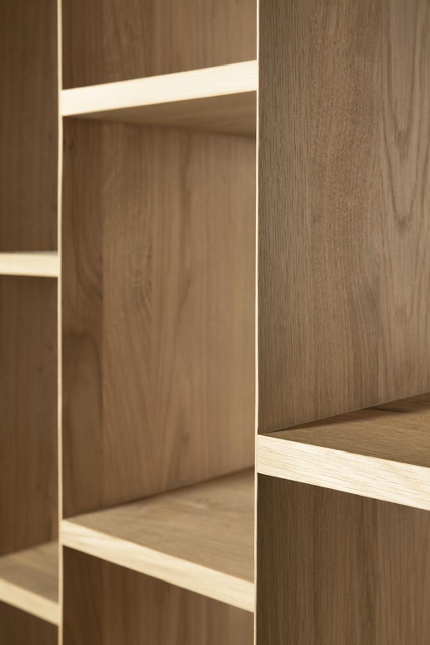 Suspend Light Oak Cabinet