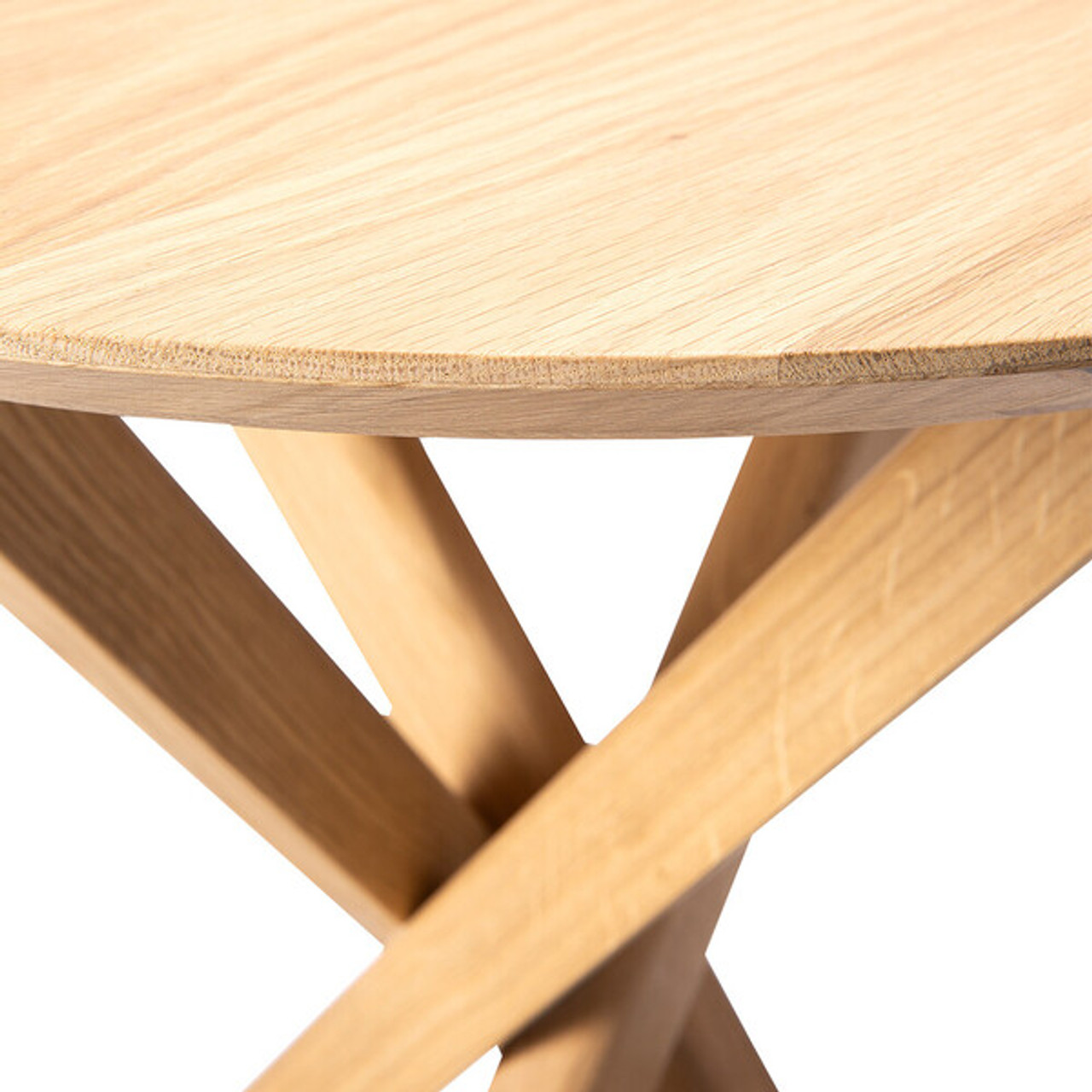 Alain Solid Oak Side Table