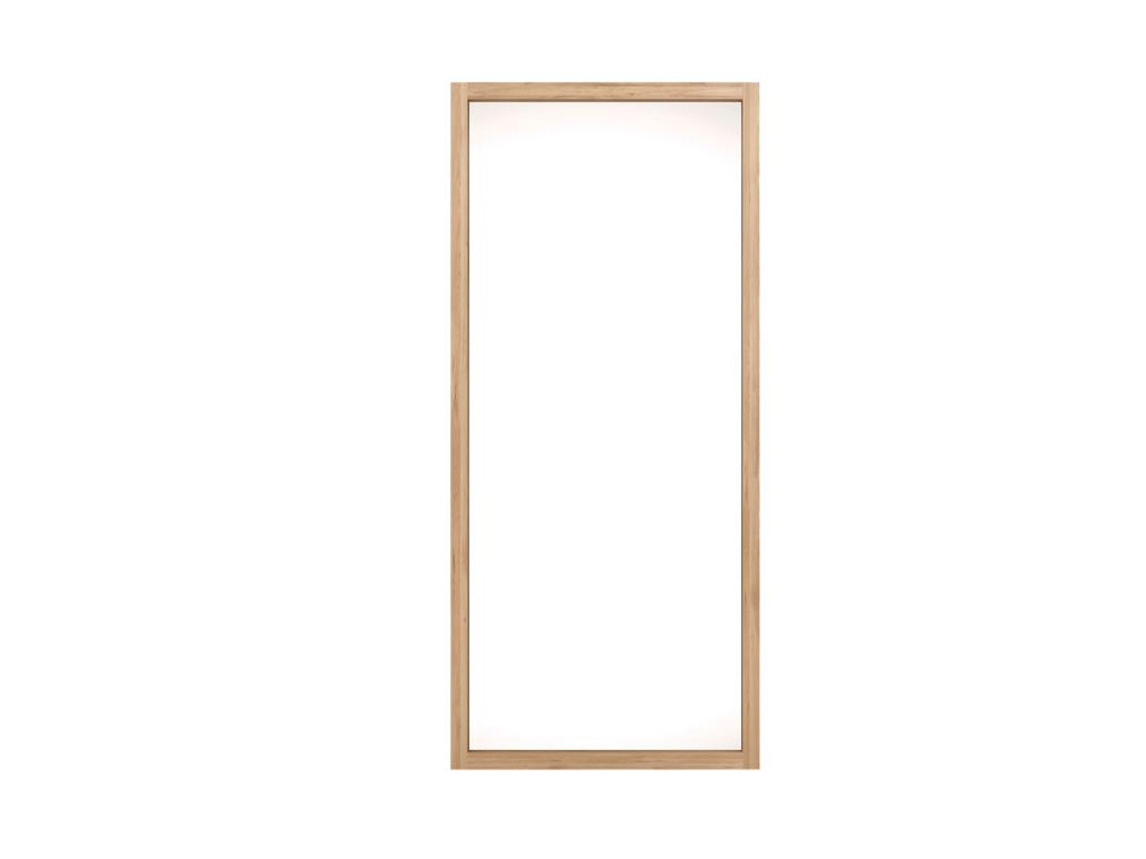Blanche Light Oak Framed Mirror