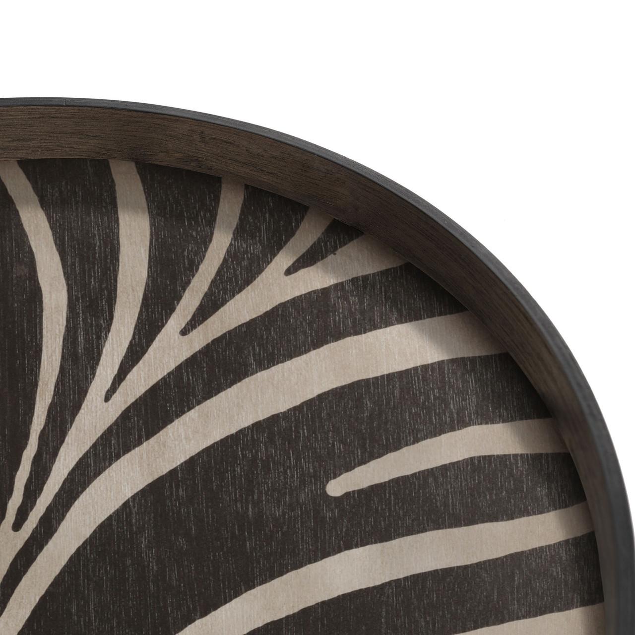 Folk wooden tray