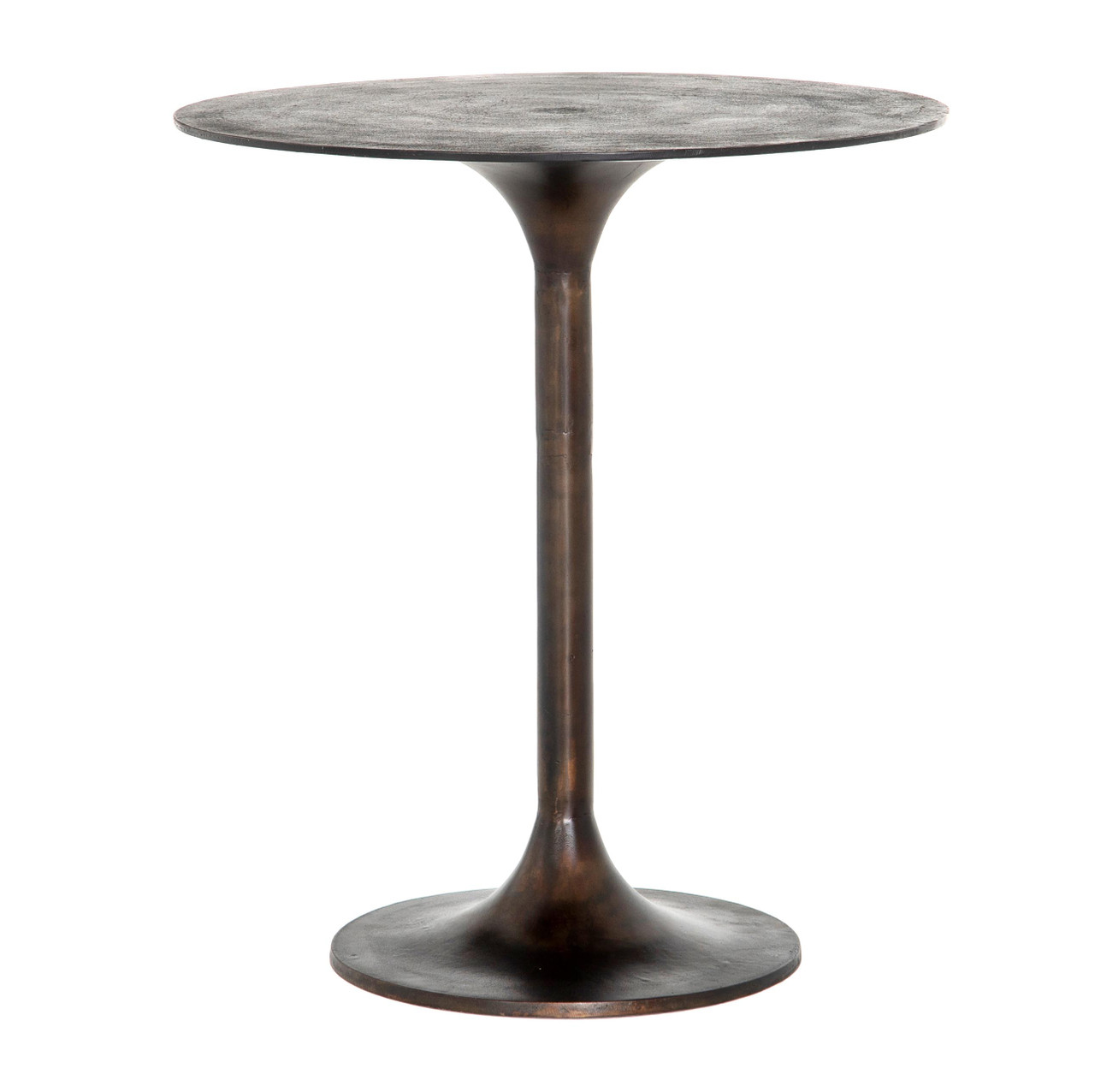 Tulip Round Outdoor Bar + Counter Height Table