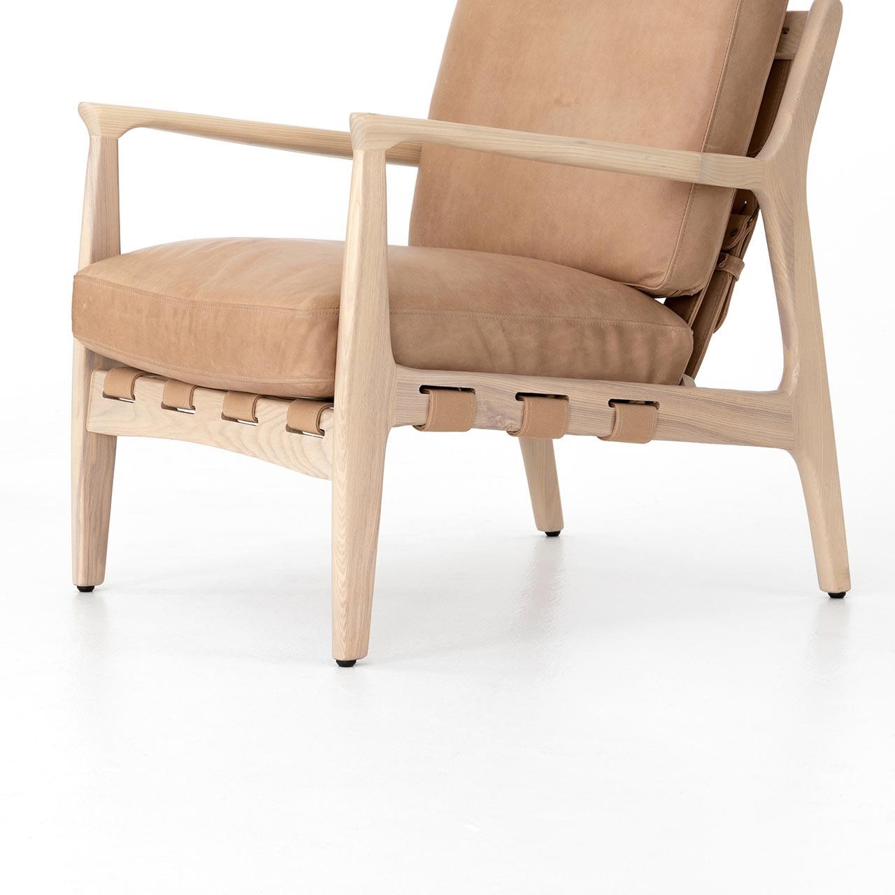 Selena Leather Armchair