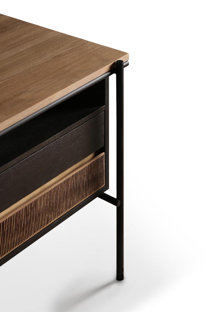 Oscar Teak Minimalist Storage Desk