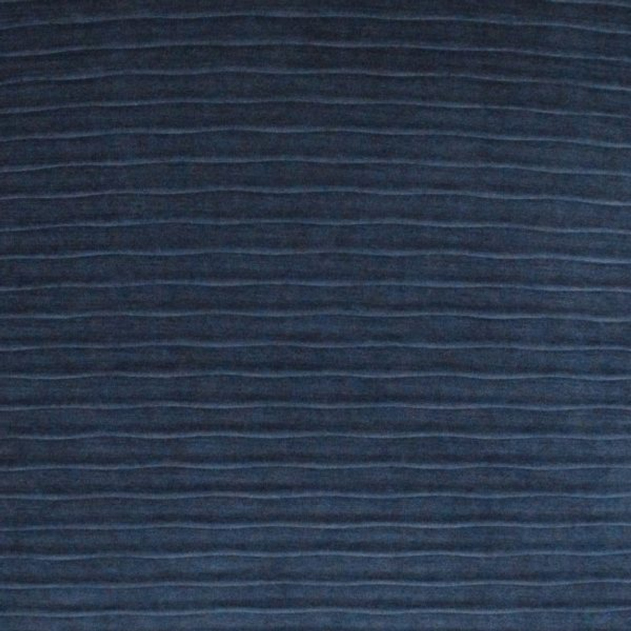 Pleated Throw Pillow - Navy Blue