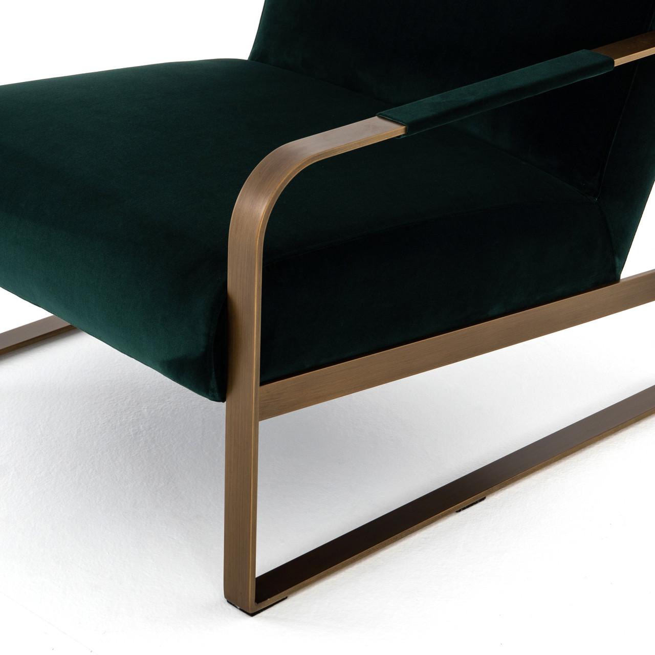 Jules Velvet Arm Chair
