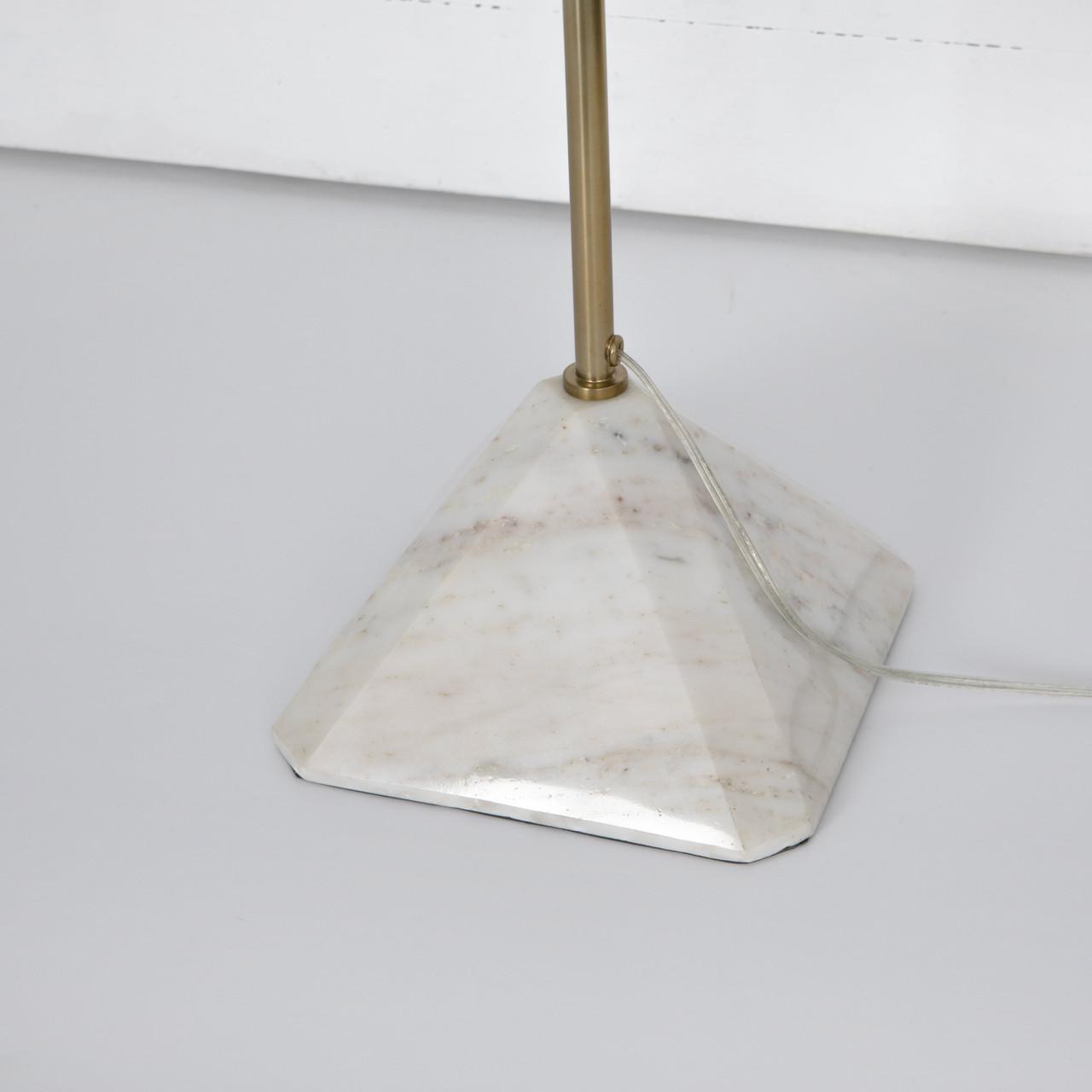 Patina Brass Floor Lamp
