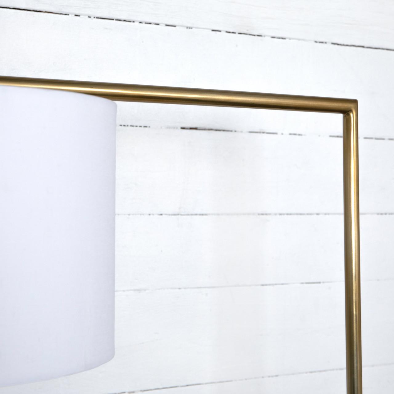 Pen Brass Floor Lamp