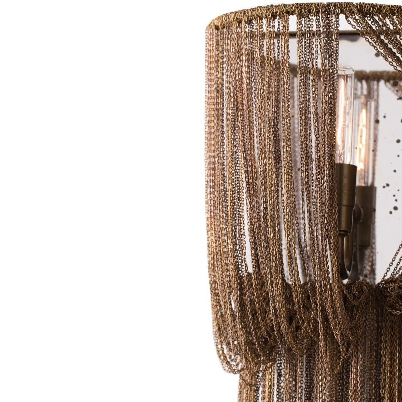 Alee Large Sconce Staggered Draped Chain