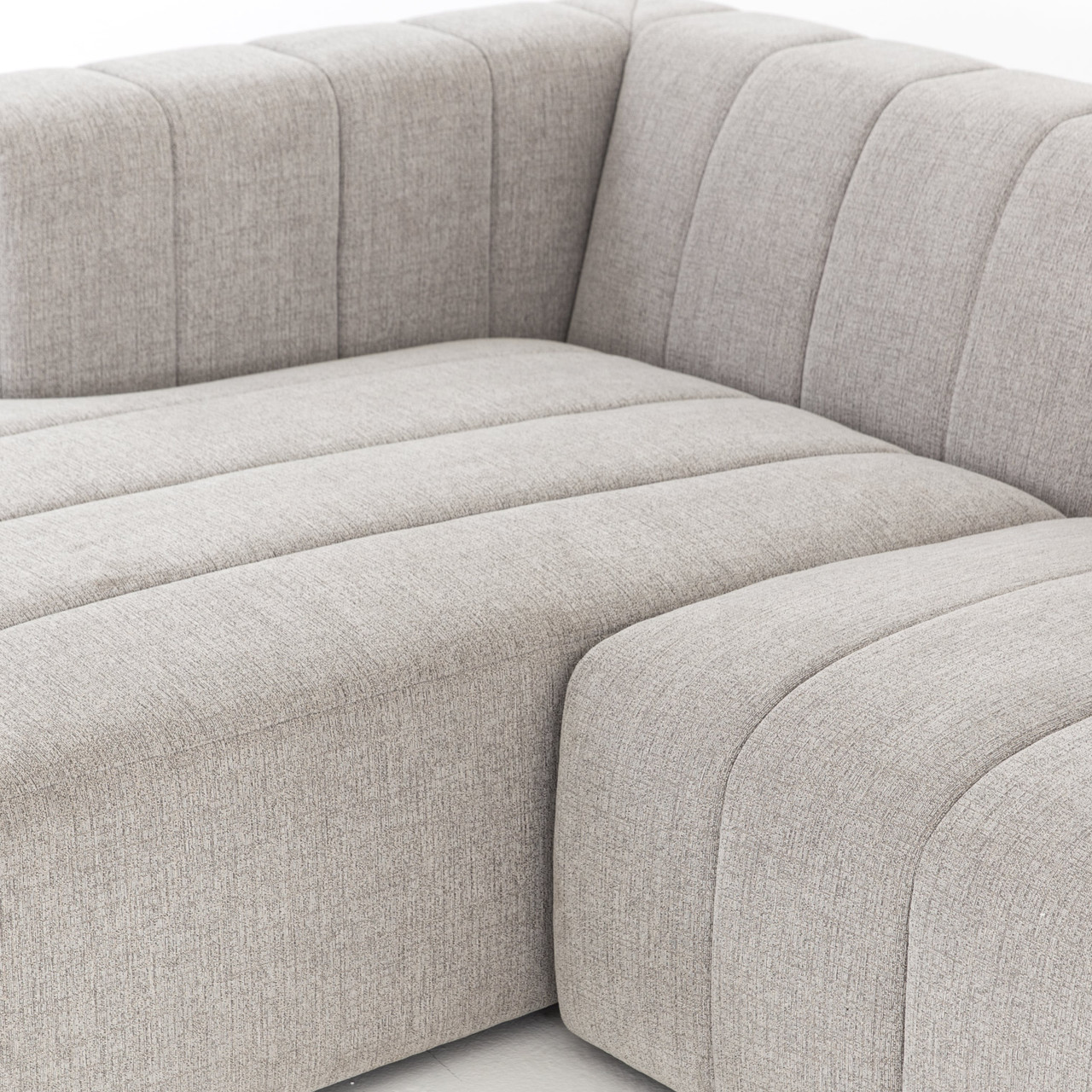 Milagro Modern Channeled Sectional 4-PC