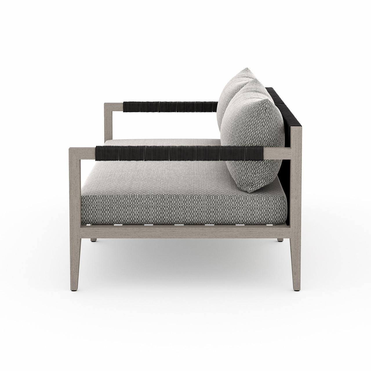 Silhouette Outdoor Sofa - Weathered Grey