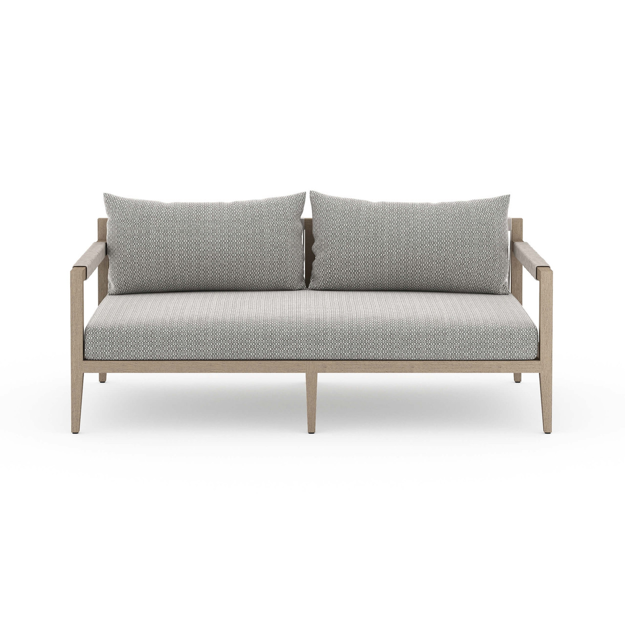 Silhouette Outdoor Sofa, Washed Brown