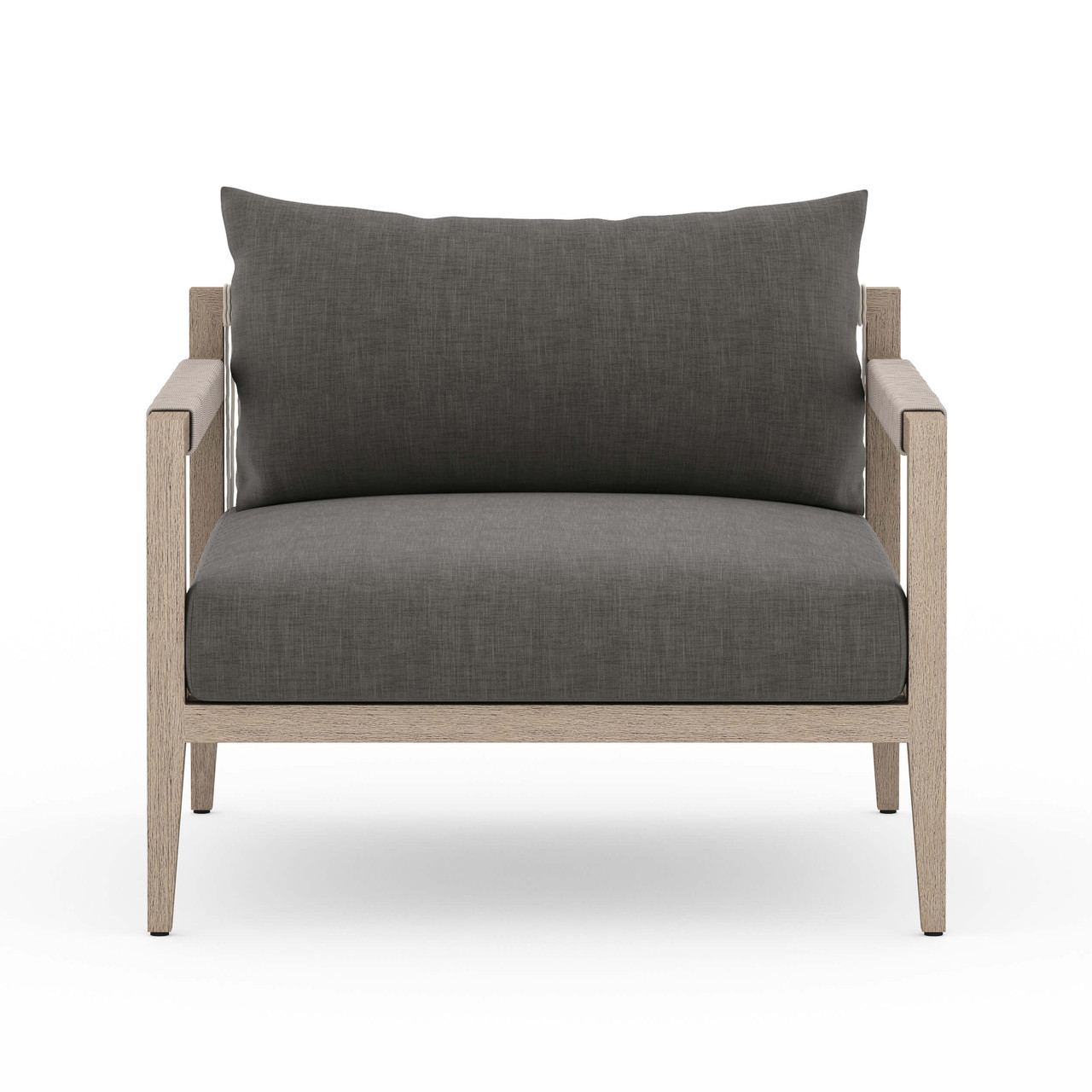 Silhouette Outdoor Chair, Washed Brown