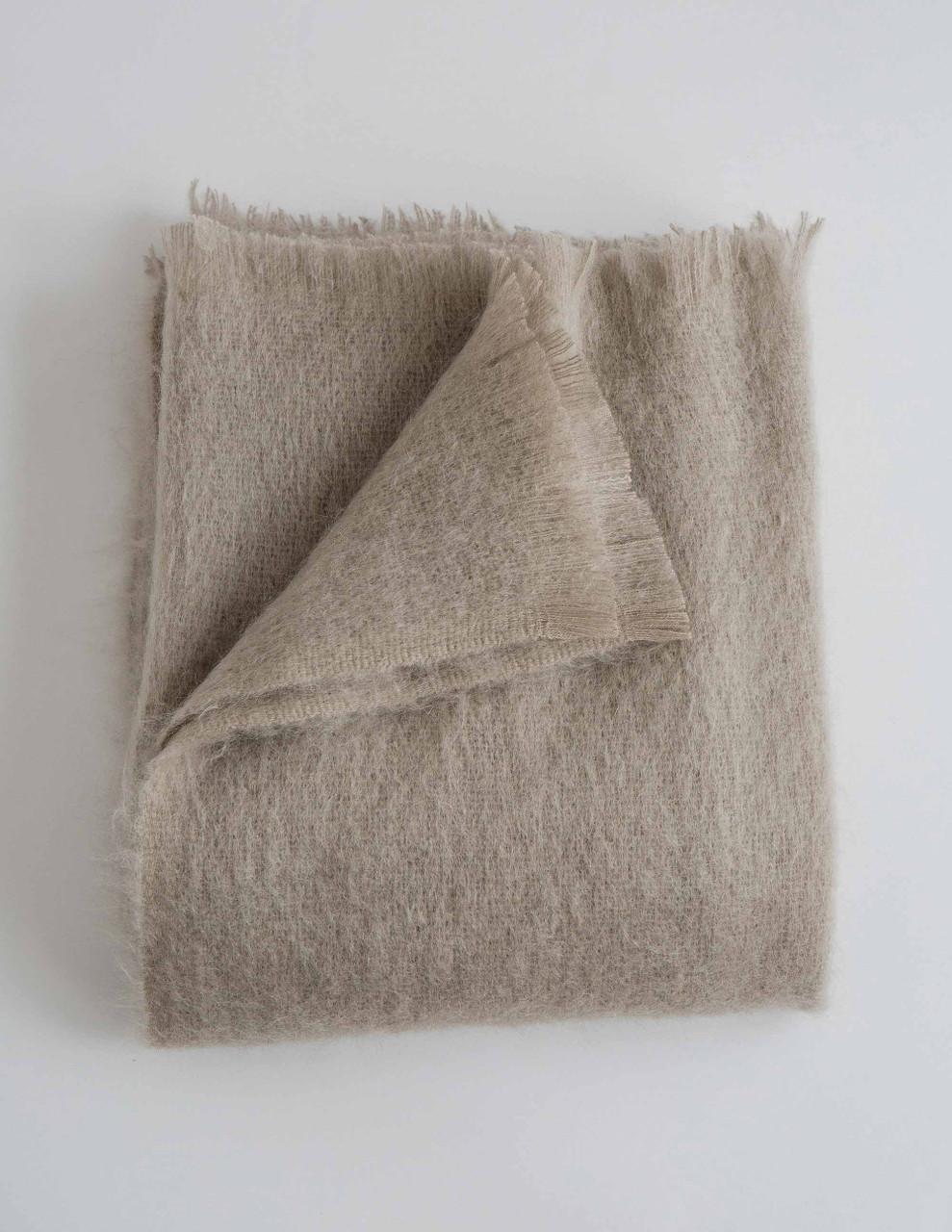 Mohair Throw Blanket