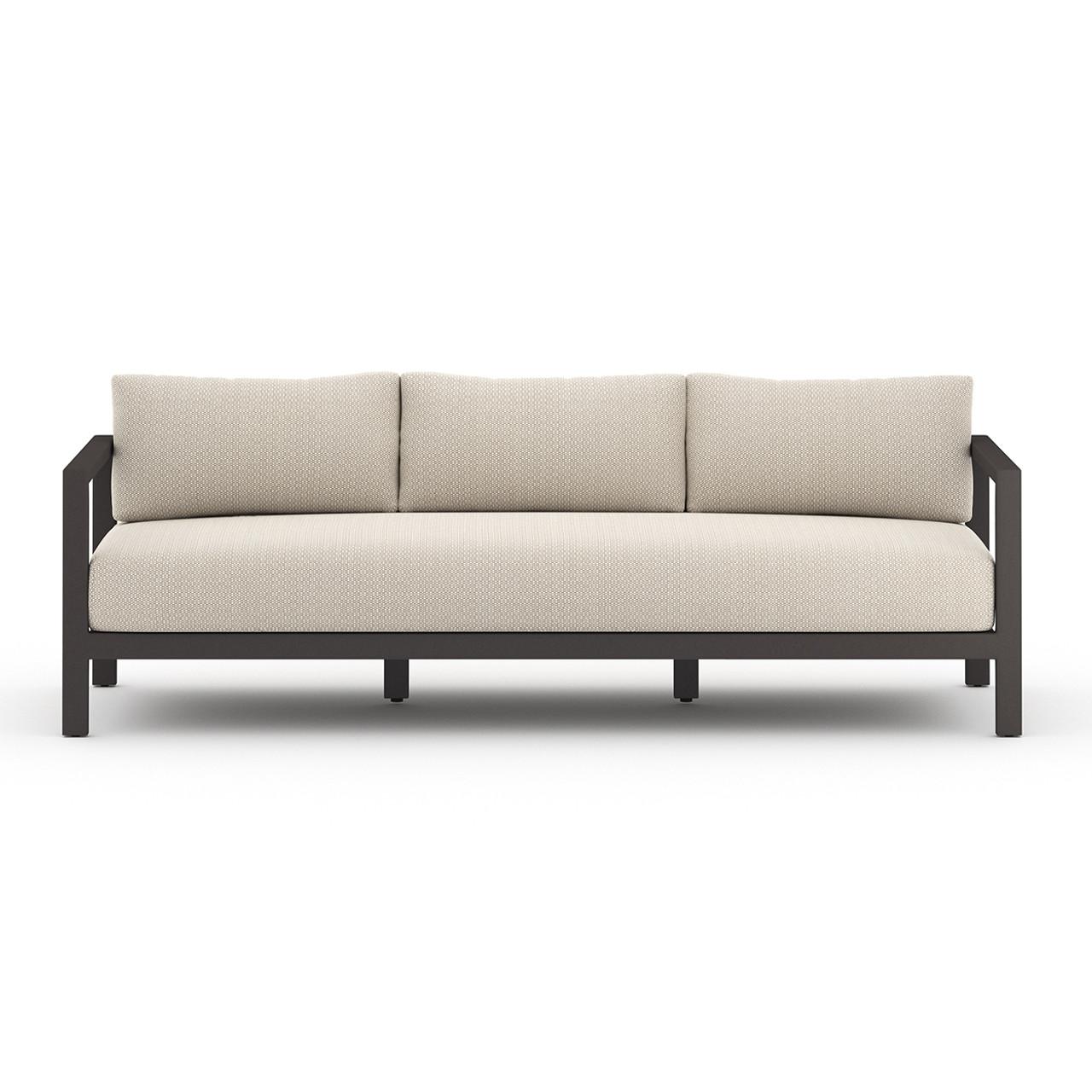 Oceanside Outdoor Sofa Collection - Black Bronze