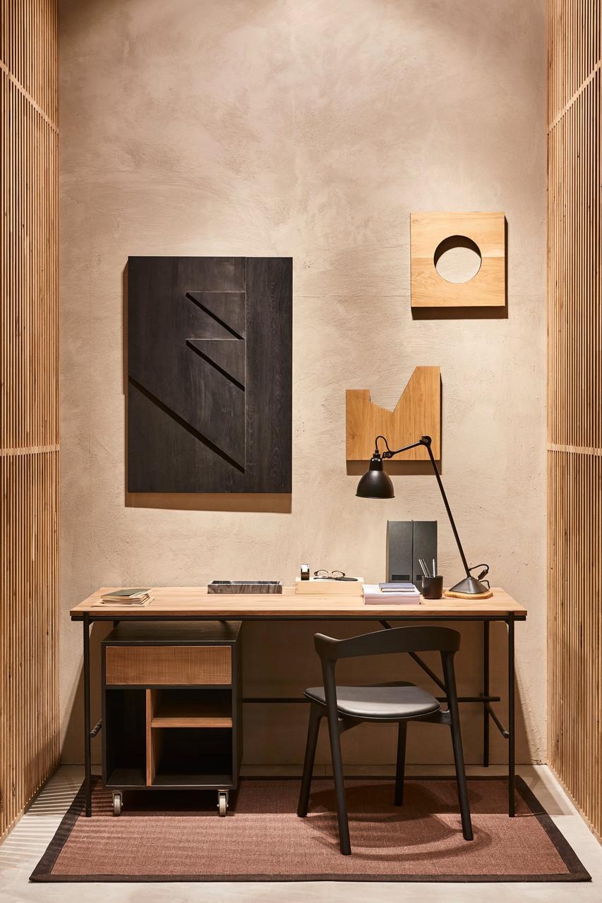 Oak Oscar Office Desk