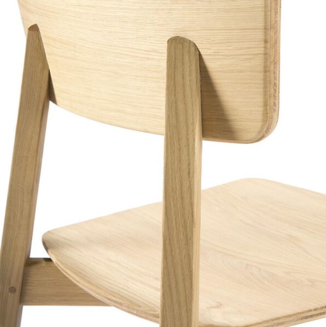 Kaishi Oak Dining Chair - Contract Grade