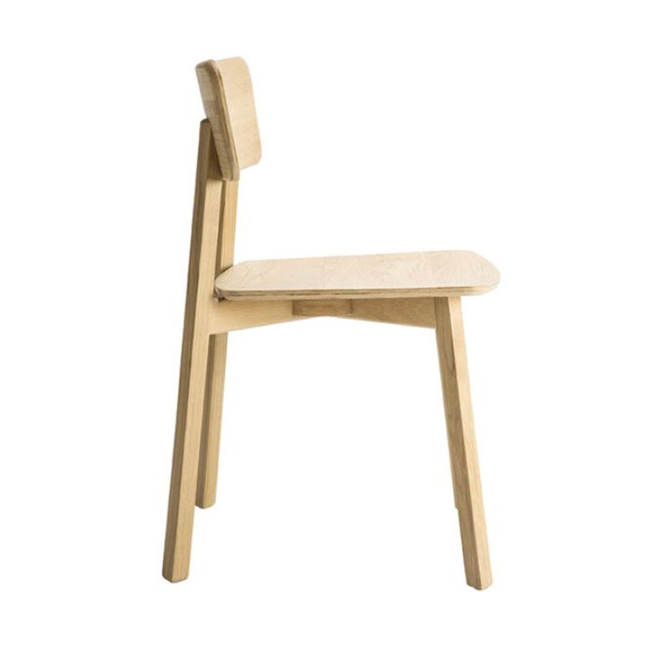 Kaishi Oak Dining Chair - Contract Grade