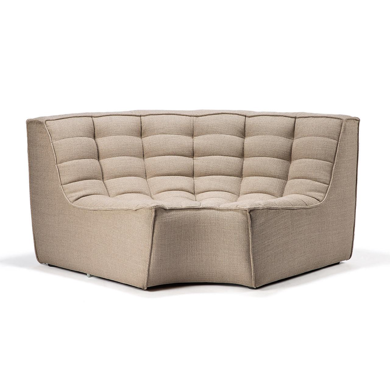 Roset Modern Modular Sectional Sofa - Round Corner