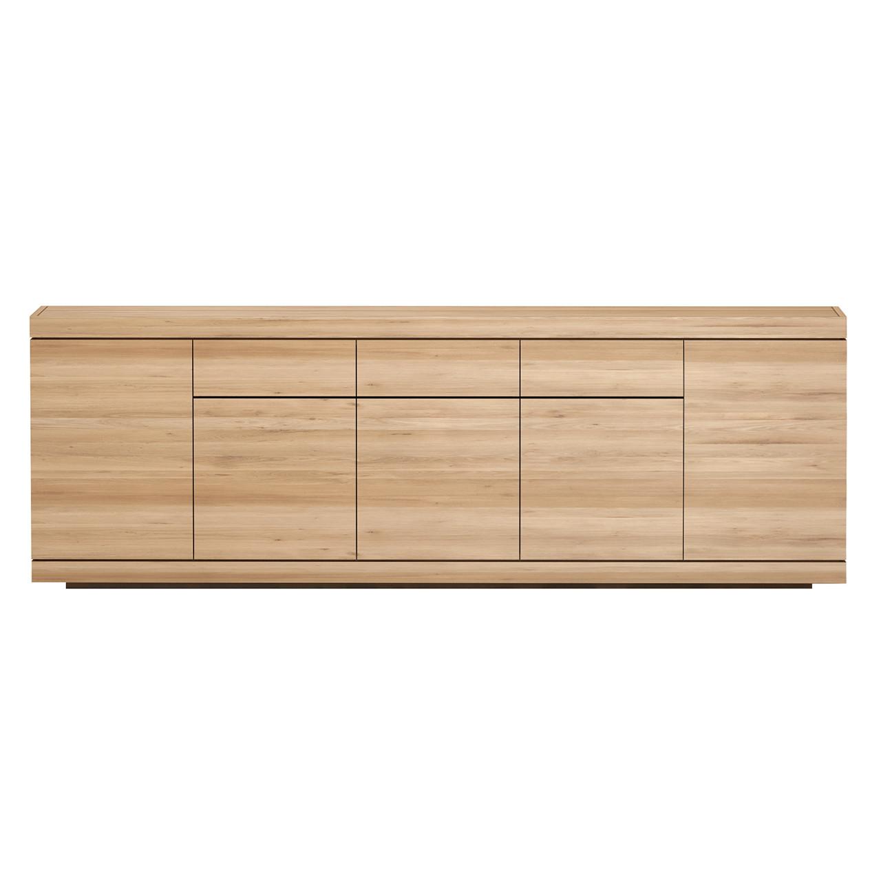 """Oak Burger Sideboard Buffet Cabinet 98"""""""