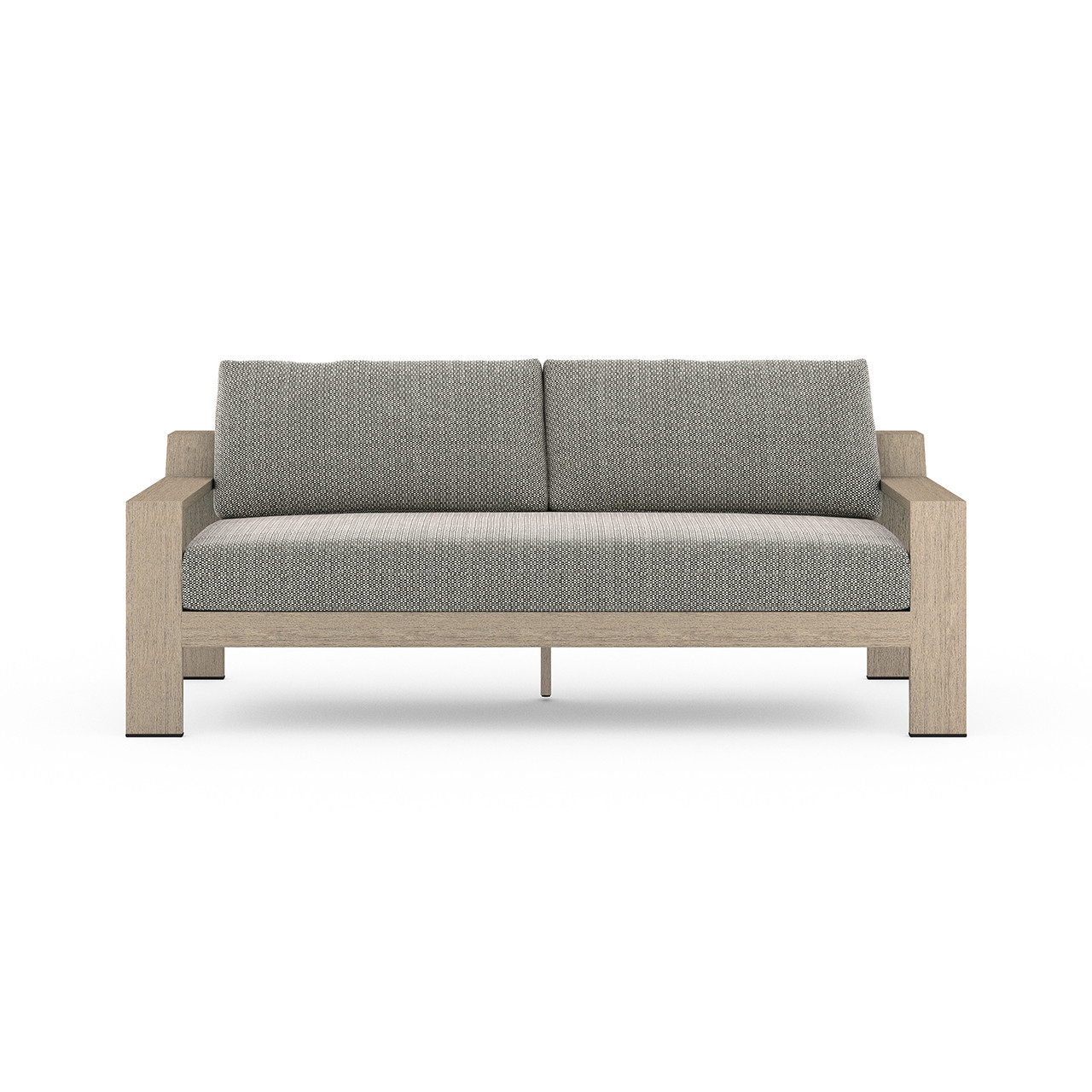 Hope Ranch Teak Outdoor Sofas - Washed Brown