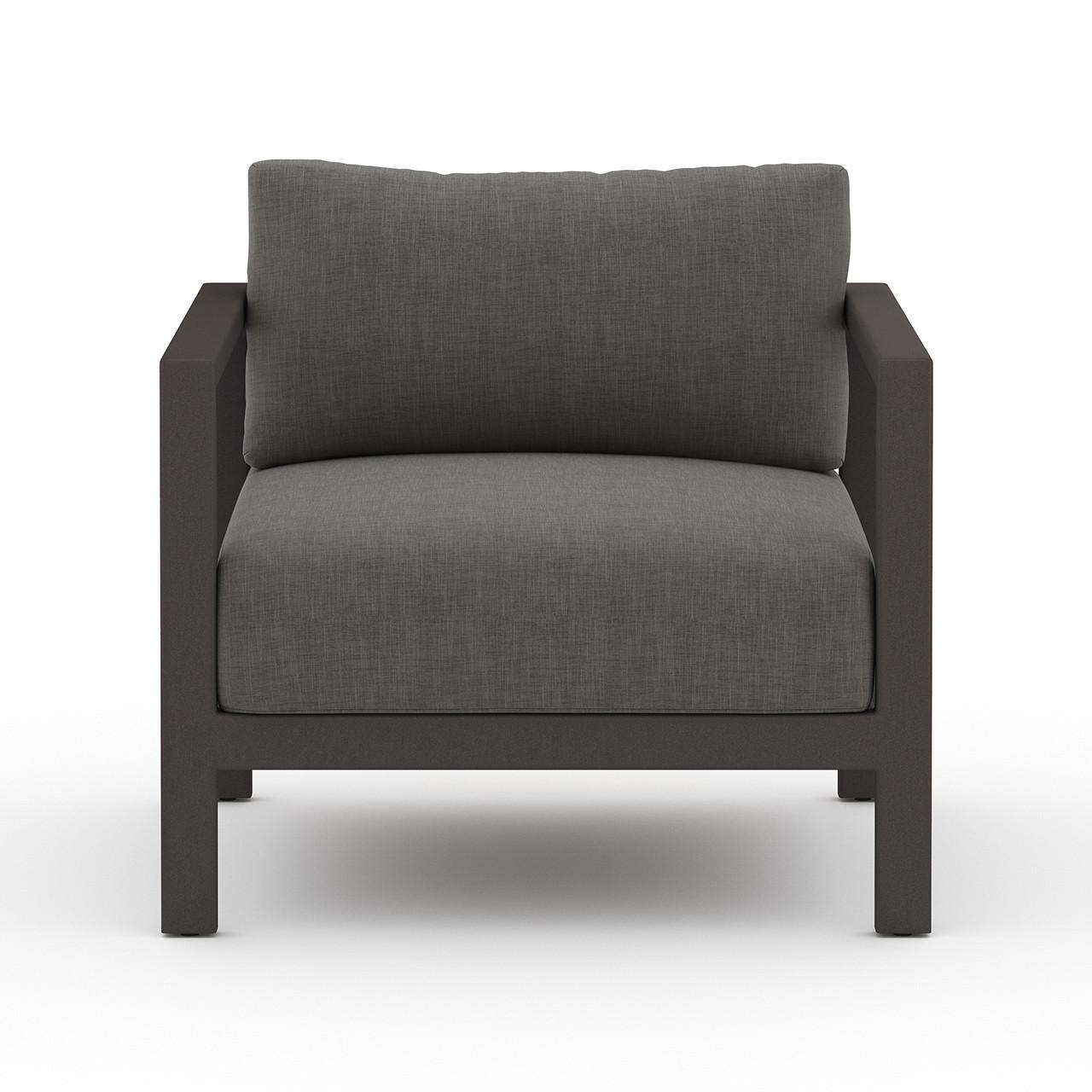 Oceanside Outdoor Lounge Chair - Black Bronze