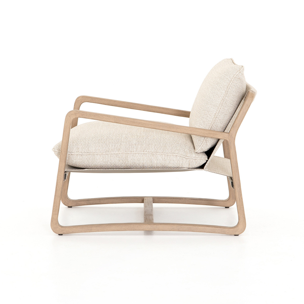 Sunset Cliffs Outdoor Lounge Chair - Washed Brown