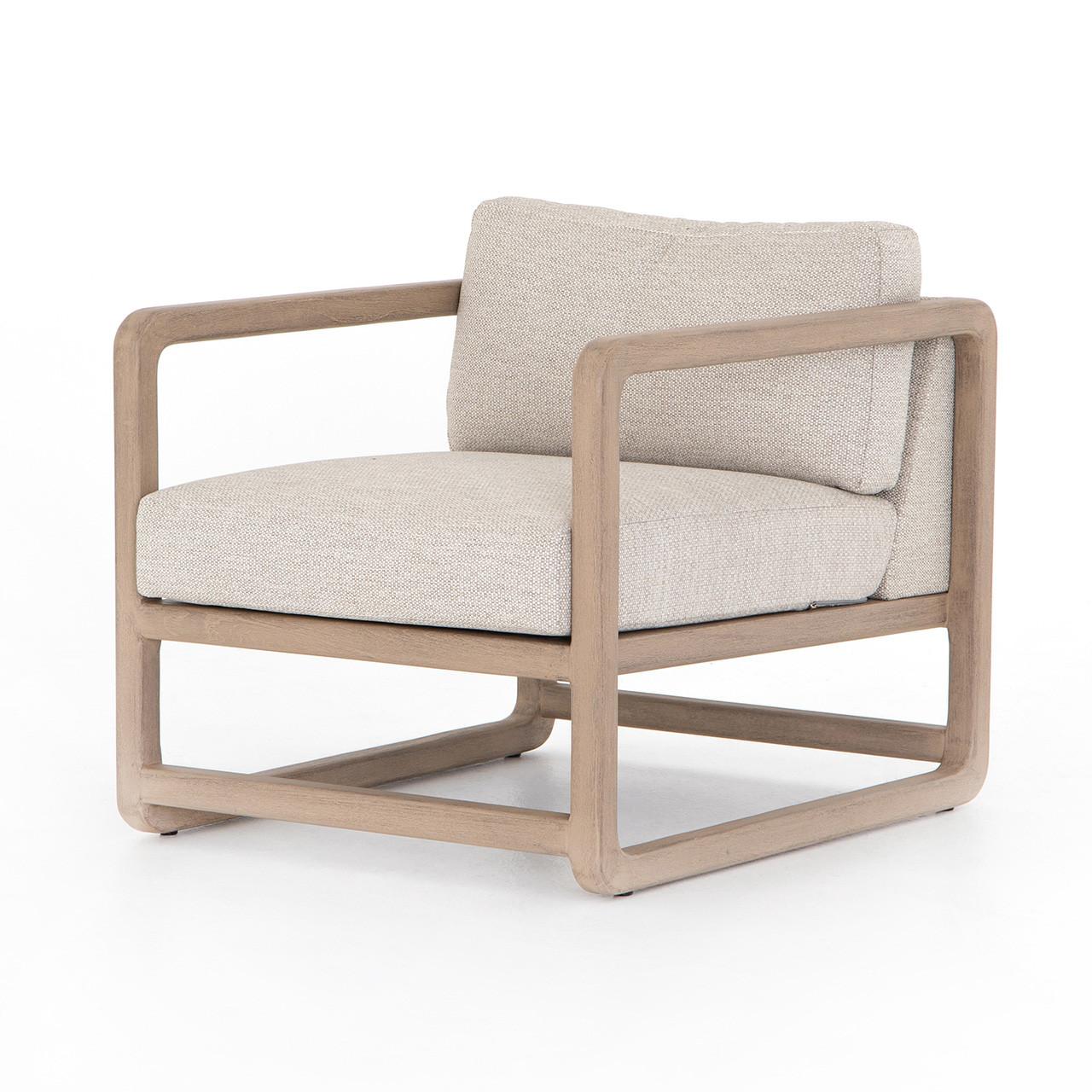 Cardiff Outdoor Teak Lounge Chair