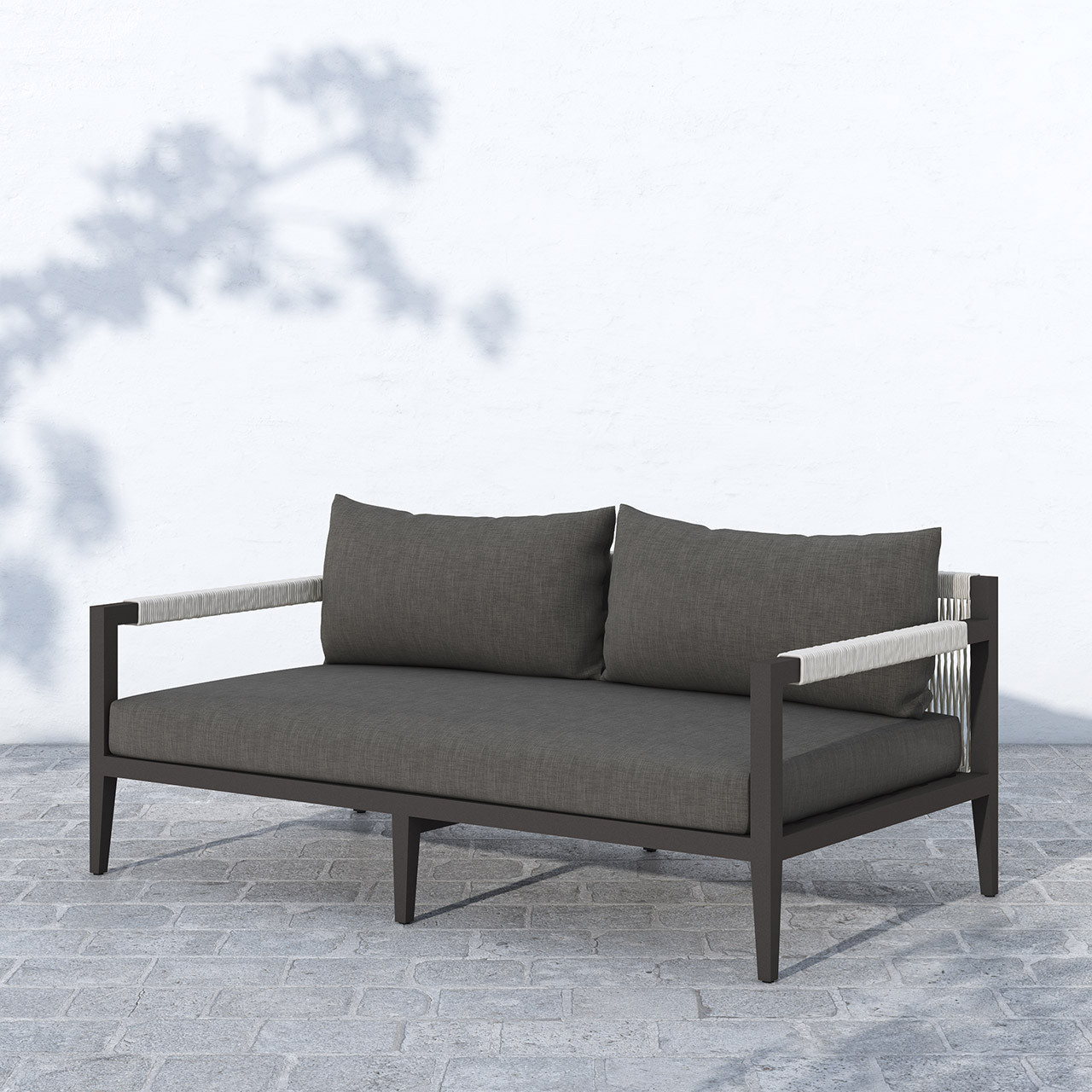 Silhouette Outdoor Sofa - Black Bronze